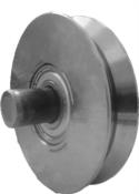 Roldana Portão V Com Rolamento 2.1/2x15 60mm 6241 001004.000-1