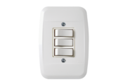 Interruptor 3 Teclas Simples Com Placa 6441 43100