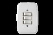 Interruptor 3 Teclas 2ts+1tp Com Placa 6442 43110