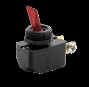 Interruptor Unip Tecla Vermelha 6a CS-301d Aeb2fp1 6505 CS-301D AEB2FP1