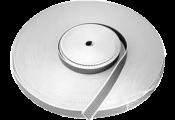 Fita Persiana Pol Br/cinza Rolo 50m 20mm 6557 5178.020.0819.0