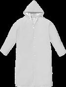 Capa Chuva Transparente Pvc G Manga Laminada 6757 327
