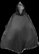 Capa Chuva Preta Boiadeiro Pvc Forrado 6759 464