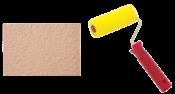 Rolo Espuma Porosa Textura Com Garfo 09cm 7058 431-09