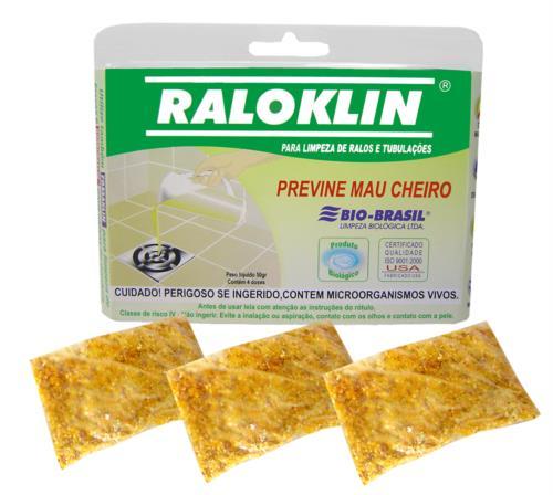 Raloklin Limpeza Ralos/tubos Blister 4 Unidades C/ 50g 7612 230005