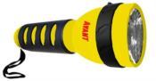 Lanterna Plástica Com Emborrachado Amarelo 7615 AM-2XD
