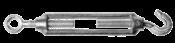 "Esticador Cabo Aço Zincado4    12,0mm 1/2"" 774 1/2"""