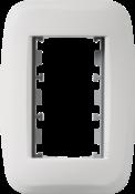 Placa Abs+bastidor 2x4 7744 50130