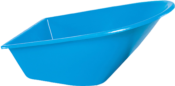 Caçamba Carrinho Mão Plástica Azul 90l 7893 011201049