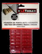 Calço Fixador Porta Anti Aderente Transparente 8023 012/TRANSPARENTE