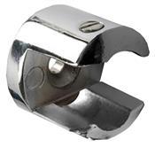 Suporte Prateleira De Vidro Regulável Cromado 08mm 8039 35