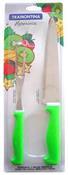Conjunto Trinchante Inox 2 Peças Verde 8091 23099/283