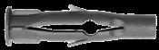 Bucha Tijolo Furado/gesso 6mm Pct Com 200 11037 PLAST/ 6MM
