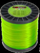 Linha Nylon Redonda +/- 325m Verde 2,6mm/2kg 8208 2,60MM/2KG