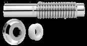 Tubo Ligação Wc Met Ajustável 240mm 8327 290404 425