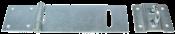 """Porta Cadeado Reforçado Com Parafuso Encartelado 7"""" 10053 45022"""