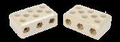 Conector Porcelana Tripolar 16mm 68a/600v 8692 7665-3 POL