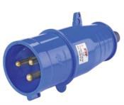 Plug 2p+t 16a 200 250v 6h Ip44 az 8734 PLG4016