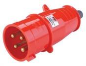 Plug 3p+t 32a 380 440v 6h Ip44 vm 8737 PLG7032