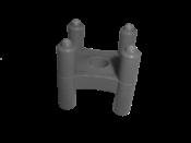 Espaçador Tipo Cadeirinha Para Ferro Até 22mm 25x30mm 8895 ECG-2530