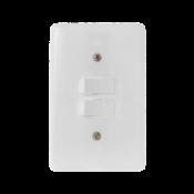Interruptor 2t Par Stylus 6a 250v 4x2 9245 2024/4X2