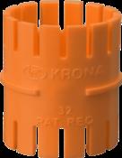 Luva Pressão Eletroduto Corrugado Laranja 25mm 9321 1251