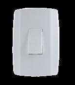 Interruptor Simples 10a 250v Vertical Slim 9610 8017