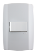 Interruptor Simples 10a 250v Horizontal Slim 9613 80173