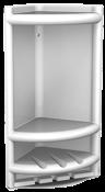 Porta Shampoo De Canto Branco 9809 4010