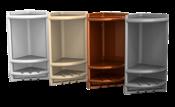 Porta Shampoo De Canto Cinza 9811 4011