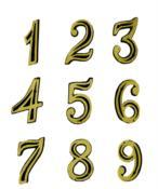 Número Casa Plástico 9 9831 NC-9