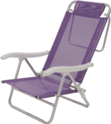 Cadeira De Praia Sol De Verão Pink 9938 002118