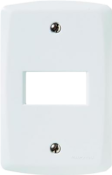 Placa 1p Horizontal Lux2 4x2 9943 57105/004