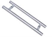 Puxador Redondo De Alumínio Cromado 25,4x600mm 12692 2101-600CRB/ZAM