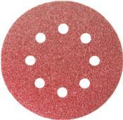 Disco De Lixa Com Velcro Perfurado Grão 40, 125 Mm, 5 Peças 12871 738029
