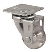 Rodízio Gel Giratório Sem Trava Diâmetro 35mm 40kg 12897 RIS35 PL ZB