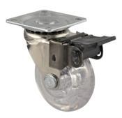 Rodízio Gel Giratório Com Trava Diâmetro 50mm 40kg 12900 RIS50 PL TR