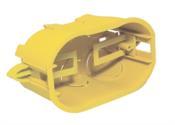 Caixa Drywall Amarela 4x2 12972 DW-42103
