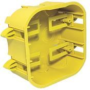 Caixa Drywall Amarela 4x4 12973 DW-44103