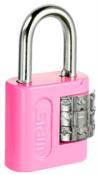 Cadeado Segredo Encartelado Rosa 25mm 12935 90510