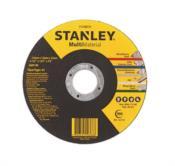 Disco Corte Multi Material Stanley 115mmx1,0mmx22mm (ferro, Inox, Alumínio, Pvc E Concreto) 13028 STA8070