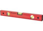 """Nível Alumínio Vermelho Com Escala 40"""" [1000 Mm] 13094 332299"""