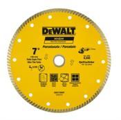 "Disco Diamantado Para Porcelanato Ultra Fino Turbo 7"" 13116 DW57700HP"