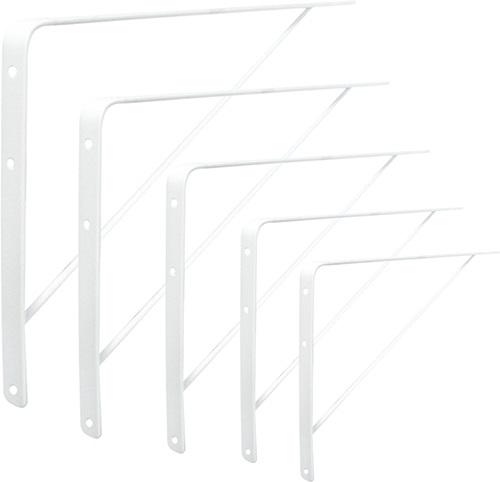 Cantoneira Prateleira Branca Reforçada 40cm