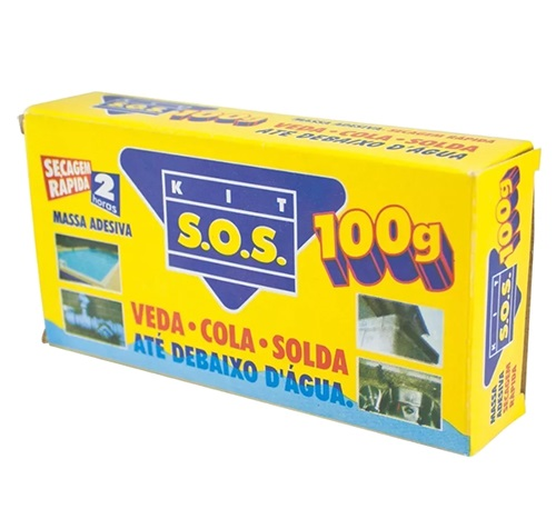 Kit Sos 100g Secagem Rápida 13411 4627