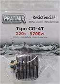 Resistência Gorducha 4t 220v 5700w Tipo Corona 13770 CG4T0257