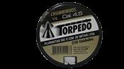 Chumbo Espingarda Pressão Torpedo 4,5mm Cx C/250 un 13846 266