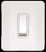 Interruptor Simples 10a 250v C/placa E Caixa Simples Branca 13928 61500