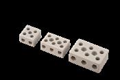 Conector Porcelana Tripolar 10mm 50a/600v 3 Polos 14022 7881005
