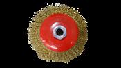 """Escova Aço Circular Rosca M14  4""""  100mm 14026 746089"""